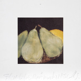 Still Life with Pears: March 28th  1988