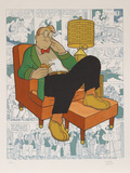 Untitled - Armchair Nap (Gasoline Alley)