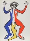 Derrier le Miroir (Acrobat (Blue  Yellow  Red))