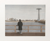 Coney Island - Self-Portrait (Color)
