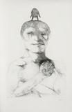 Untitled (Man with Bird on Head)