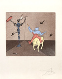 Master and Squire from Historia de Don Quichotte de la Mancha Portfolio