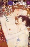 Les trois âges de la femme Giclée premium par Gustav Klimt