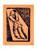 Prisoner  from '13 Woodcuts by Siqueiros'  Published 1931