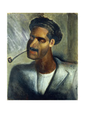 Man with Pipe; Hombre Con Pipa