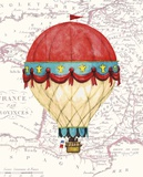 Vintage Red Air Balloon