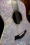 USA  Tennessee  Nashville Taylor Swift's bejeweled rhinestone guitar