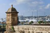 City ramparts  Palma de Mallorca  Majorca  Balearic Islands  Spain