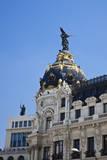 Spain  Madrid Metropolis building on Grand Via
