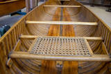 New York  Clayton Antique Boat Museum Peterborough wooden canoe