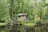 USA  Louisiana  New Orleans  Lafitte  Jean Lafitte NHP Bayou cabin