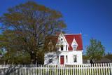 Greenwood Cottage  Sherbrooke Village  Nova Scotia  Canada