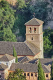 Rooftops of the Albayzin district  Granada  Spain
