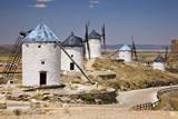Spain  Castile-La Mancha  Toledo  Consuegra La Mancha windmills