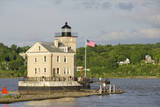 USA  New York  Kingston  Hudson River Rondout Creek Light