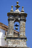 Spain  Andalucia  Cadiz Bell tower of old church in Grazalema