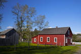 Blacksmith Shop of Sherbrooke Village  Nova Scotia  Canada