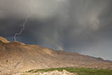 Lightning at Boquillas Canyon in Big Bend National Park
