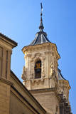 Spain  Granada Bell tower of the Church of San Justo y Pastor