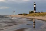 Big Sable Point Lighthouse on Lake Michigan  Ludington SP  Michigan