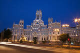 Spain  Madrid The Palace of Communication