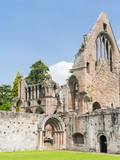 Dryburgh Abbey in the valley of the river Tweed