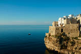 Italy  Apulia  Polignano a Mare Old village over the cliff