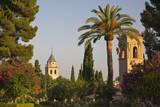 The Generalife gardens in the Alhambra grounds  Granada  Spain
