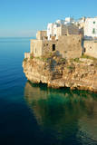 Italy  Apulia  Polignano a Mare Old village on a cliff