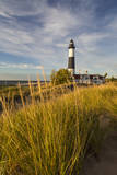 Big Sable Point Lighthouse on Lake Michigan  Ludington SP  Michigan
