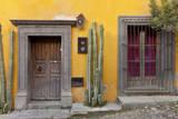 Mexico  San Miguel de Allende Doorway and window of residence