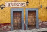 Mexico  San Miguel de Allende Exterior of Bar Casanova