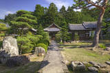 Grounds of the Shingon-in Temple  Nara  Japan