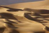 Abstract of desert shapes  Badain Jaran Desert  Inner Mongolia  China