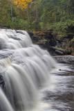 Canyon Falls on the Sturgeon River near L'Anse  Michigan  USA