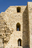 The crusader fort of Kerak Castle  Kerak  Jordan