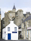 Old town waterfront  Lerwick  Scotland  Northern Isles  Shetland