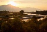 Snake River in Swan Valley  Idaho  USA