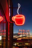 Pike Place Market at Christmastime Seattle  Washington  USA
