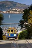 San Francisco cable car  California  USA