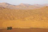 Desert landscape  Badain Jaran Desert  Inner Mongolia  China