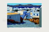 Mykonos : le petit escalier