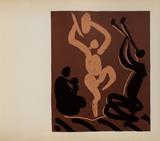 LC - Mère danseur et musicien Reproduction pour collectionneurs par Pablo Picasso
