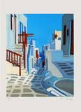 Mykonos : lumière blanche