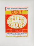 AF 1958 - Musée Municipal Céret Reproduction pour collectionneurs par Pablo Picasso