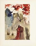 DC Purgatoire 28 - La divine foret Reproduction pour collectionneurs par Salvador Dalí