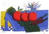Nature Morte Aux Pommes Rouges