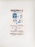 AF 1958 - Vallauris 10 ans de céramique Reproduction pour collectionneurs par Pablo Picasso