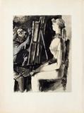 Verve - Femme et peintre II