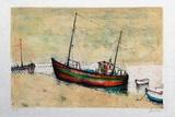 Bâteaux de pêche à Arcachon